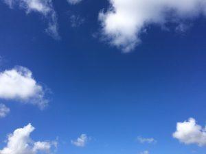 青空と朗読